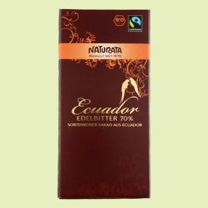 Chocolate Amargo 75% Perú